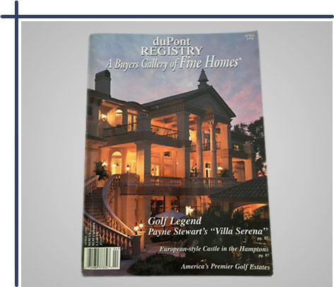 Magazine Cover - duPont Registry - A Buyers Gallery of Fine Homes