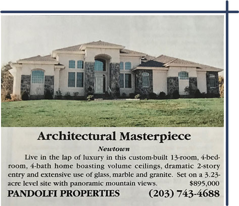 The story behind our Bridgewater Home Watch logo. The house in the picture was featured in the du Pont Registry (1998).